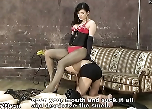 Japanese Mistress Foot Worship