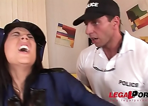 Heinousness scene doesn'_t stop Officer Madison Parker from hardcore ass fucking GP128