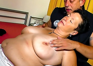 XXX OMAS - Big special German chubby mature gets screwed