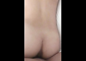 Hottest oriental BBC slut screwed and cum on tits