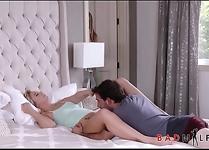 Hot MILF Natasha Starr Teaches Her Posture Son Then Gets Him Gone While His Hot Teen Girlfriend Bailey Brooke Is Sleeping