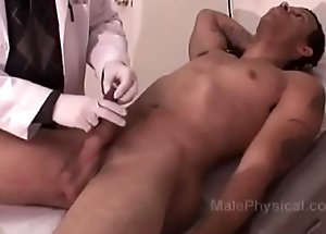 Hung Jet-black man gets a Strenuous Exam from White Doctor
