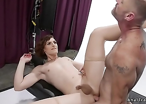 Tranny and dude anal fuck each other