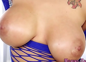 Masseuse with big tits