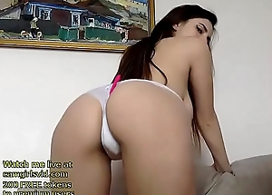 Russian beauty with huge boobs sexy supreme moment
