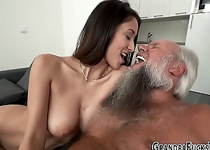 Teen railed by grandpapa