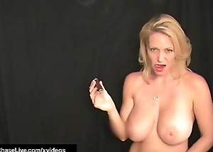 Cigar Smokin' Milf Charlee Go out after Orders BoyToy To Lick Cunt!