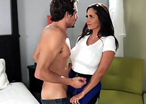 Hot mom Ava Addams craves a correct young hard cock on touching play with