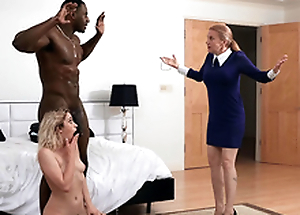 Khloe Capri gets caught surrounding her new stepdad Jax Slayher
