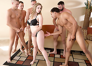 Lena Paul In the porn scene - Brazzers Quarters sex in five