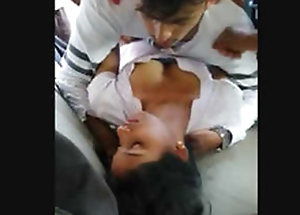 Indian college Piece of baggage Making love With 2 Guys