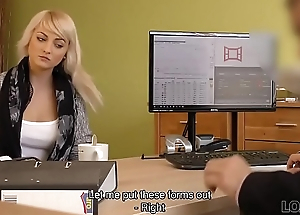 LOAN4K. Passionatre fucking on burnish apply panel in office of loan manager