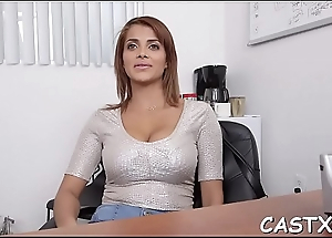 Her fist casting probes end up encircling hardcore banging