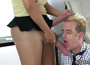 Sweeties drill fellows anal with massive ding-dong dildos and burst jizz