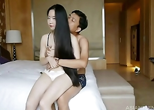 Amateur porn videos compilation with sexy asian infancy