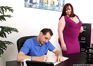 Office Slut Marcy Diamond Fucks Her Boss To Keep Her Labour