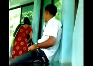 Indian Reinforcer Caught Fucking In College Classroom