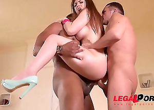 Take charge Milf Lucia Adulate perfidious dick DP&rsquo_ed to the extreme in XXX threesome GP131